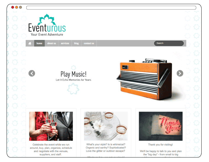 Eventurous Branding and Website Design by Kredo Design