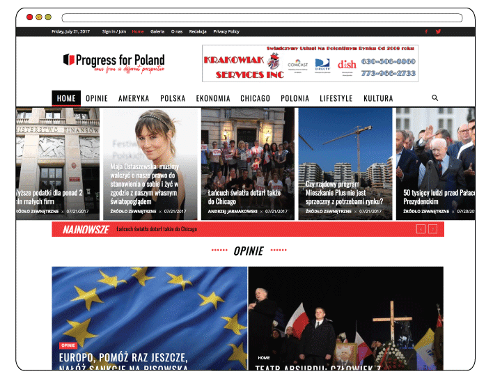 Branding and Web Design for Online Newspaper