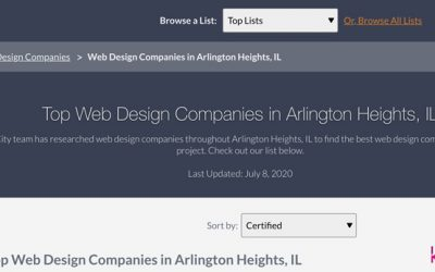 Top Web Design Companies in Arlington Heights