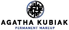 Agatha Kubiak Logo Permanent Makeup Artist